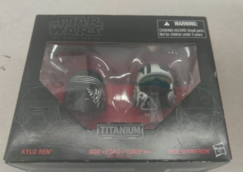 Star Wars TITANIUM Series Die-Cast Metal Helmets KYLO REN & POE DAMERON Set https://t.co/qdxM0iDRdj https://t.co/pOqetftFcO