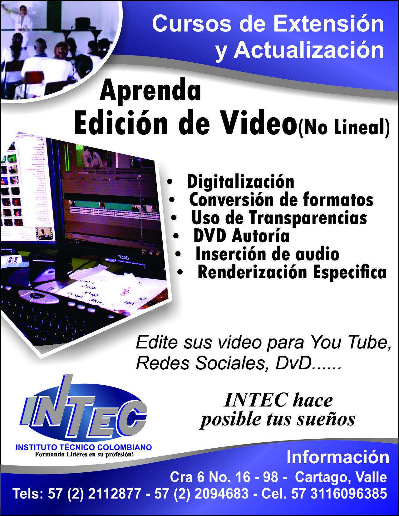 Edición de Vídeo No Lineal...