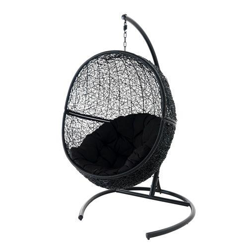 sahona fly 299 299 dimensions l 100 cm x h 180 cm x p 100cm fauteuil suspendu structure en. Black Bedroom Furniture Sets. Home Design Ideas