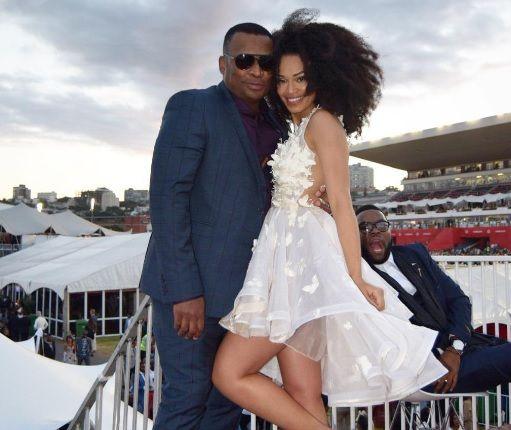 Pearl Thusi and Robert Marawa on Durban July disclose relationship