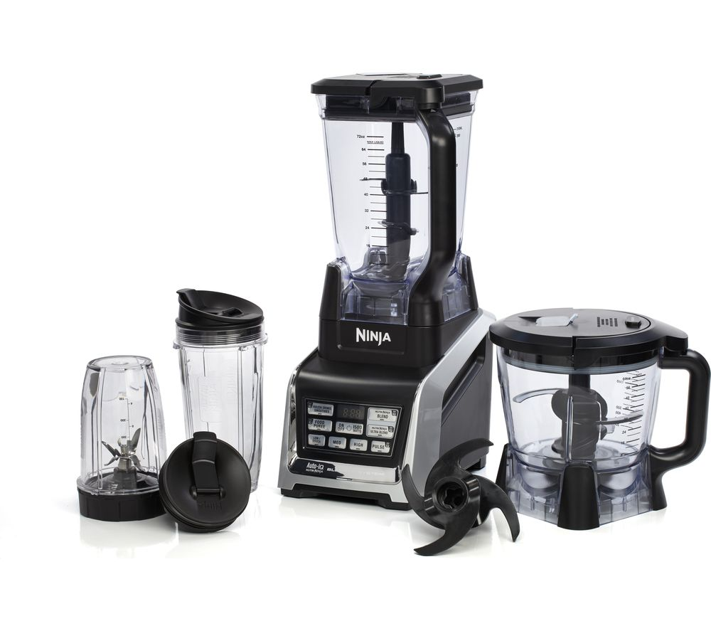 Uncategorized Ninja Kitchen Appliances nutri ninja bl682uk complete kitchen system black grey grey