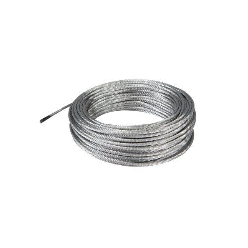100 Ft X 3mm Aircraft Grade Wire Rope Haul Master Cable Fencing Time Shop Wire