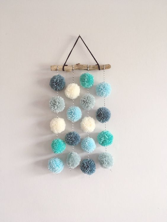 24 Pom Pom Home Decor Diy You Will Want To Keep Pom Pom