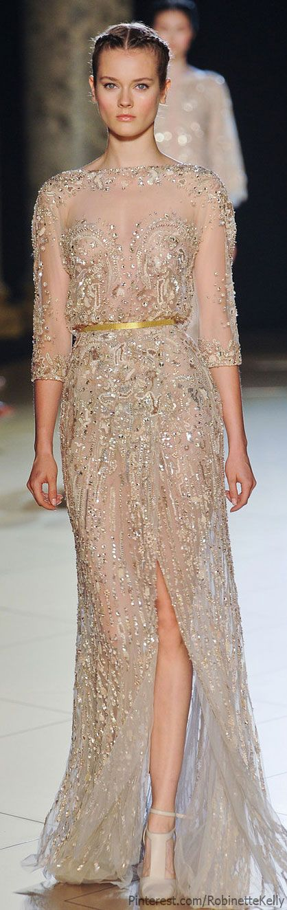 Elie Saab Haute Couture | Fall 2012; Can anyone else agree: perfect wedding…
