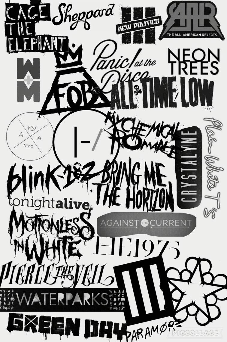 Bands Band Wallpapers Rock Band Posters Emo Wallpaper