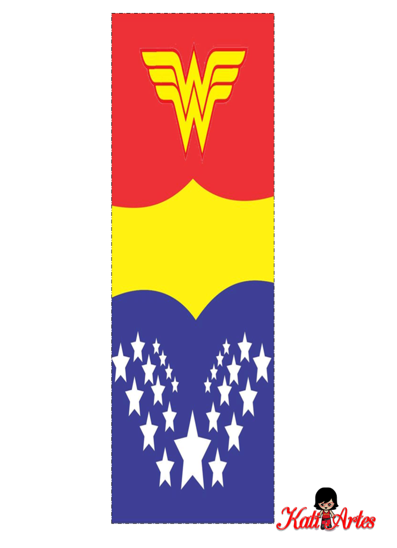 Wonder Woman Free Alphabet. Alfabeto Gratis de la Mujer ...