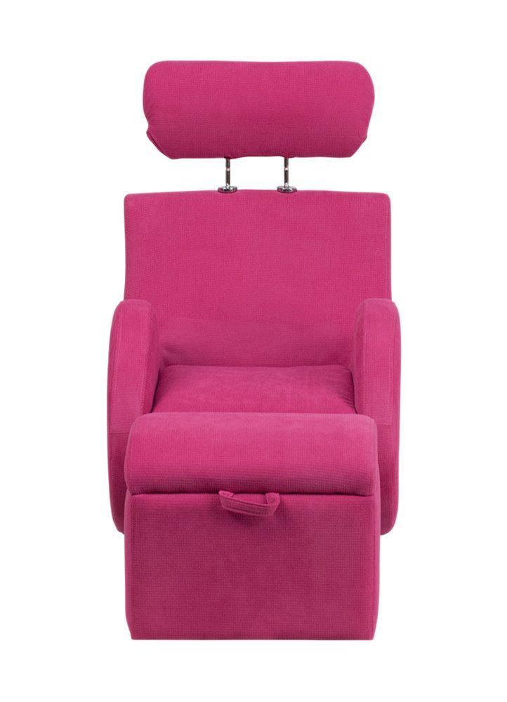 Hercules Series Kids Recliner Chair and Ottoman