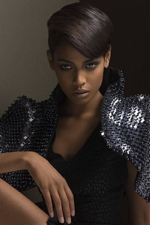 Attractive And Sexy Short Haircuts For Black Women 10 in