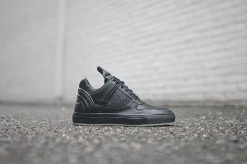 Filling Pieces Low Top Transformed - Black | Kith NYC