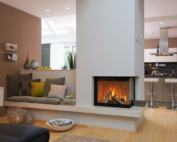 Essbereich Und Kamin U2026 | Wohnidee | Pinterest | Wohnzimmer, Wohnen Und  Hausbau Good Looking