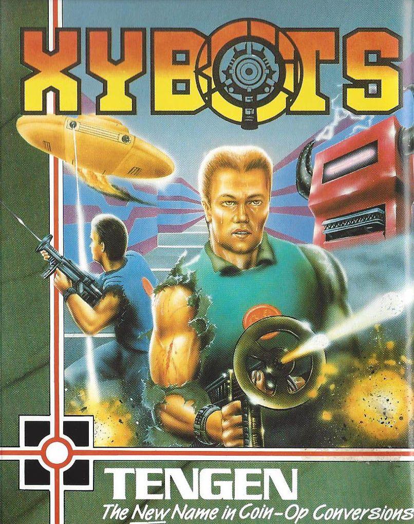 Xybots Retro gaming art, Classic video games, Retro gaming