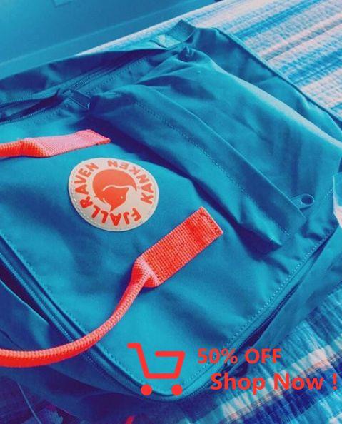 Fjallraven Kånken Classic Backpack Air Blue #hiking #sport