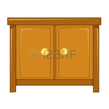 Armoire Dessin armoire dessin: cabinet illustration isolé sur fond blanc | ateliers