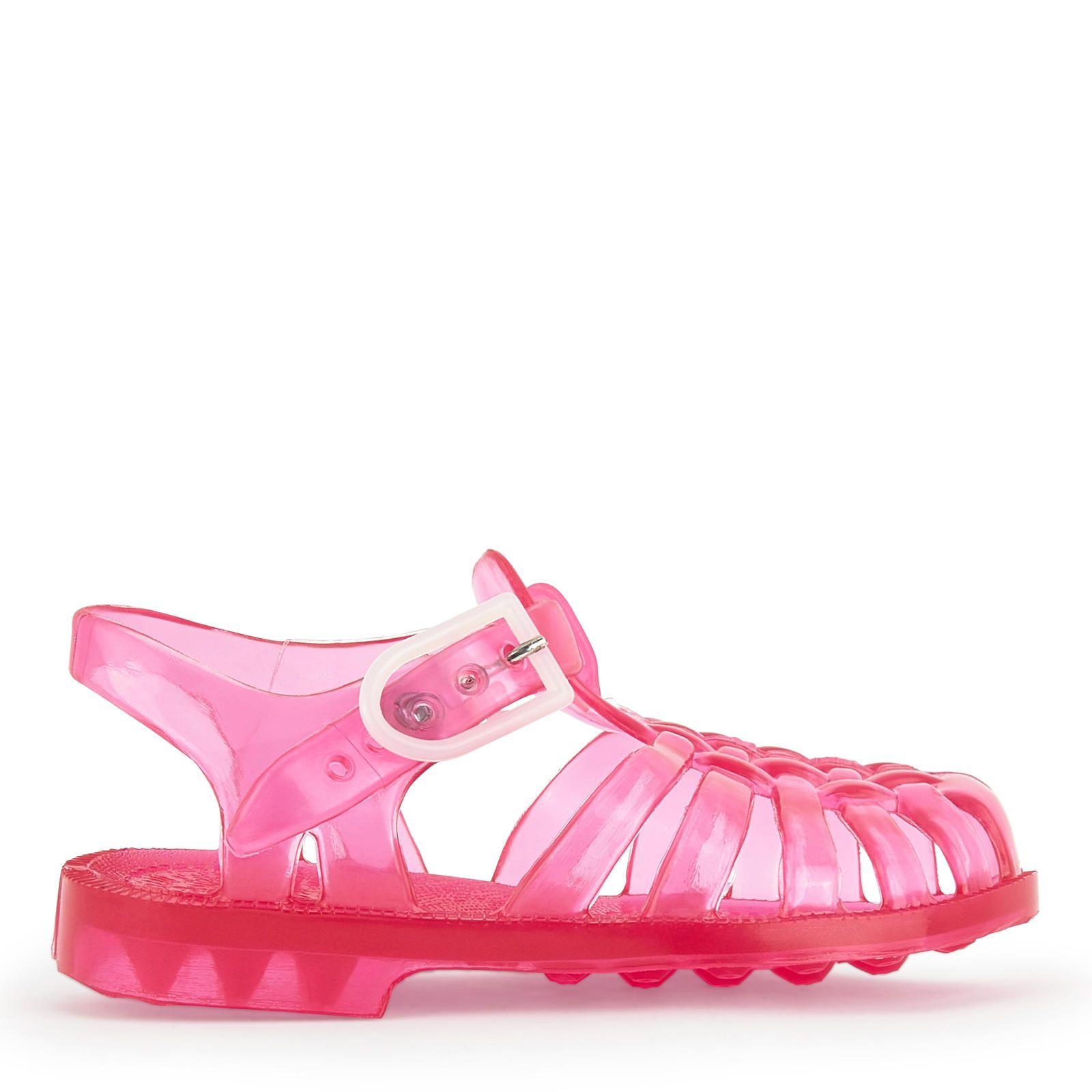 Tiges en PVC Semelles en PVC Tiges souples Chaussures idéales pour marcher et jouer dans l'eau Brides autour des chevilles Semelles rigides Semelles antidérapantes Boucles sur brides - 15,00 €