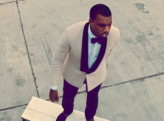 Kanye West Runaway Well Dressed Men Suits Prom Suits