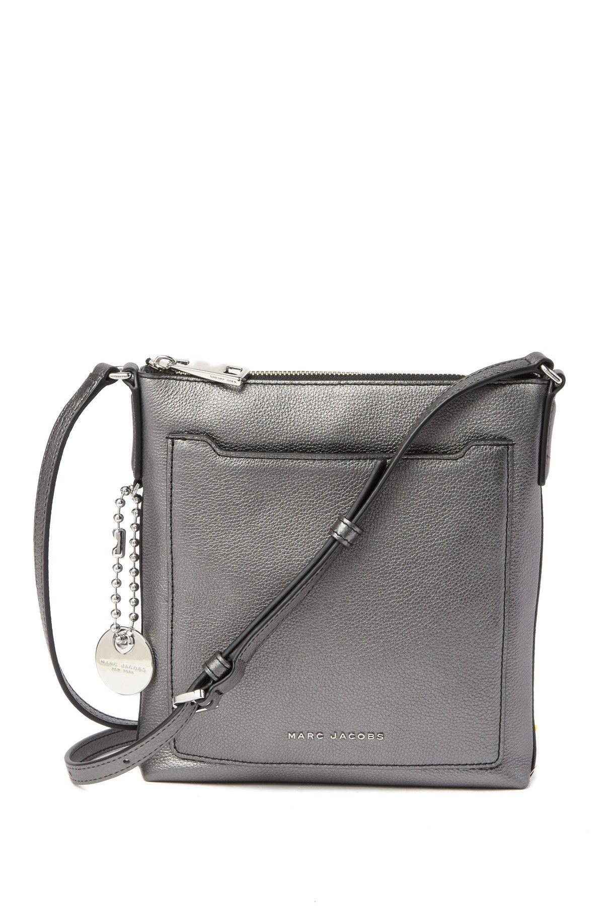 c0540383817 Marc Jacobs   Tourist Metallic Leather NS Crossbody Bag   Wish List ...
