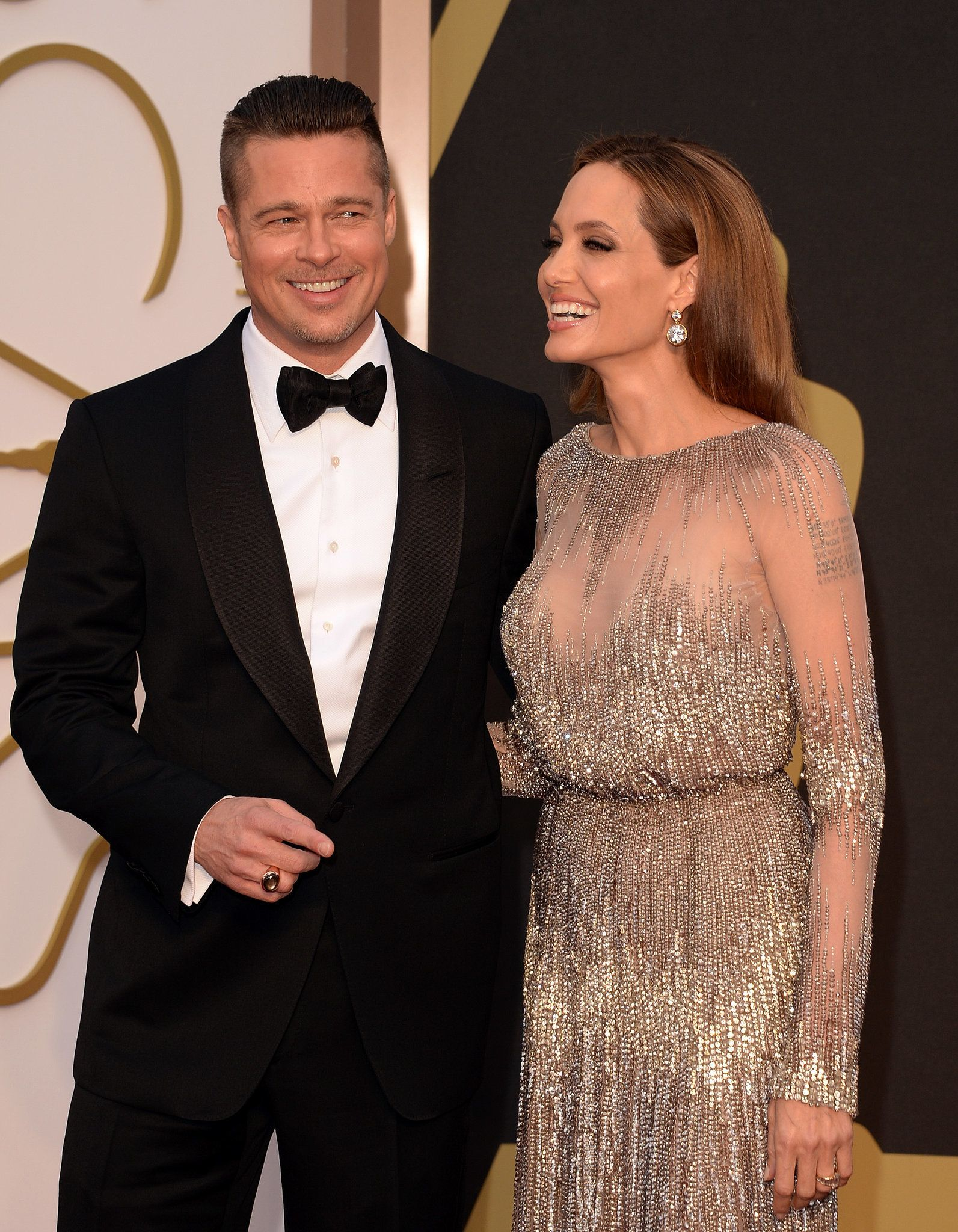 Celebrity Entertainment Brad And Angelina Brad Pitt And