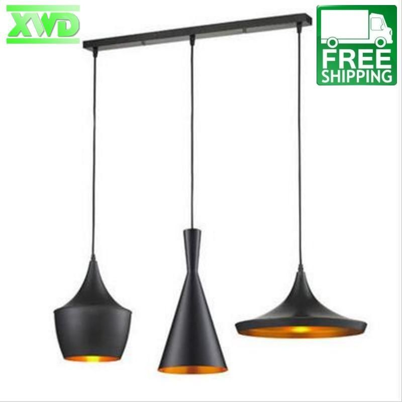 What S Better Than One Drop Pendant Three This Set Of Three Unique Pendant Light Fixtures Is Pendant Lighting Dining Room Pendant Lighting Living Room Shop