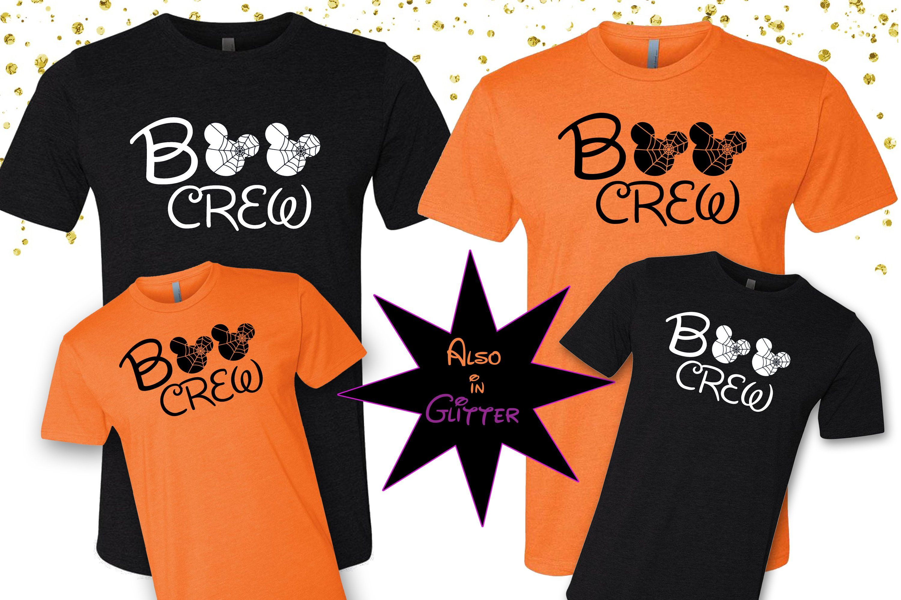 Disney Halloween Shirt Ideas.Disney Family Halloween Shirts Disney Boo Crew Disney