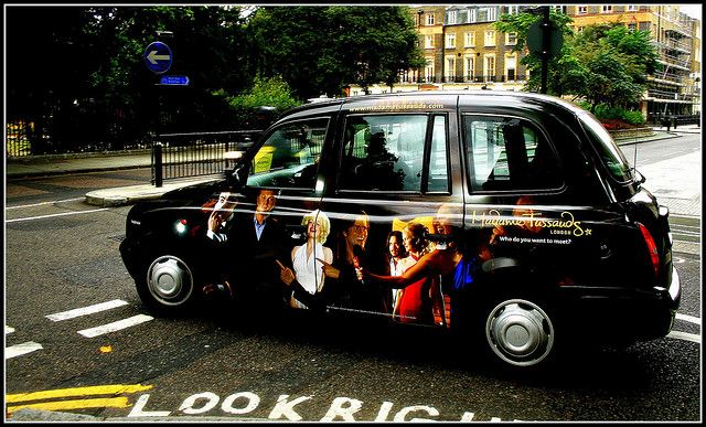 London Mdme Tussauds Taxi Tussauds London Taxi Cab London Cab