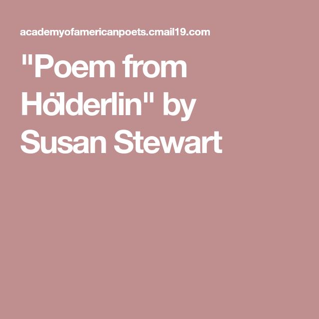 Holderlin Poems 5