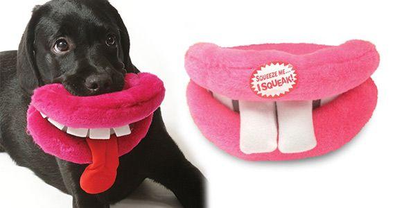 Dog Lips Dog Toy