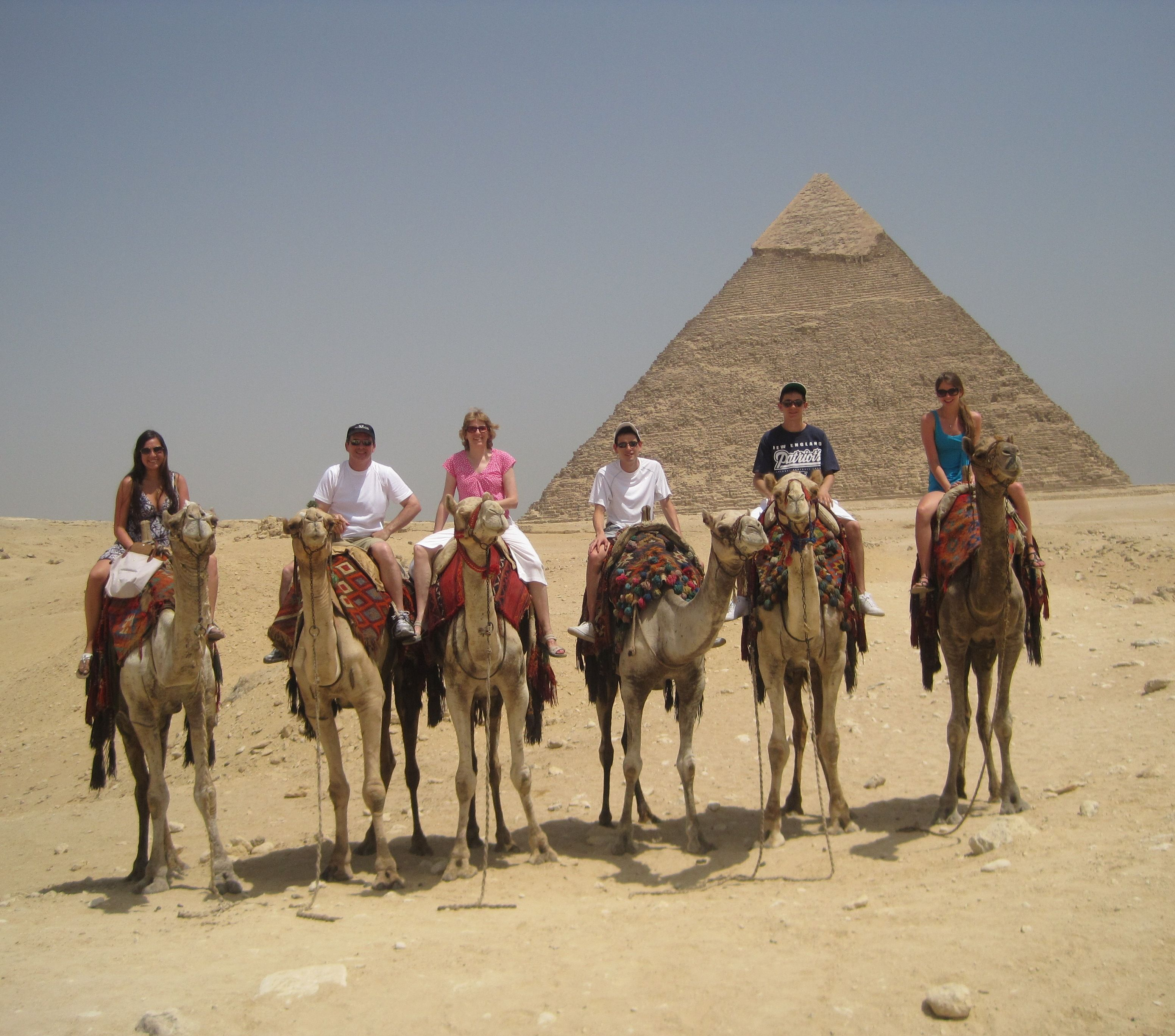 One of my favourite places was in Egypt seeing the pyramids and riding camels.