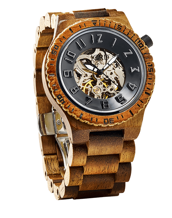 746 Series Mechanical Wooden Watch by JORD | Accessoires