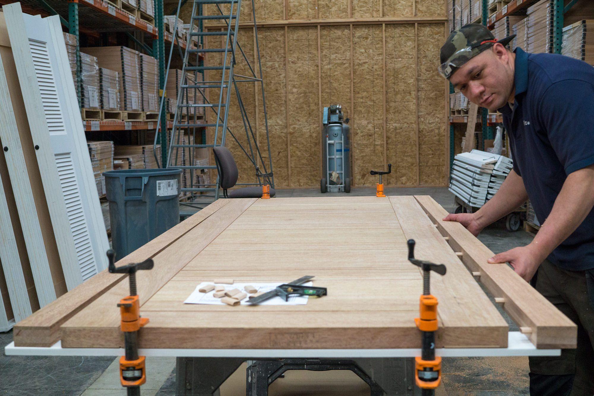 Photo 46 Of 79 In Best Doors Interior Wood Photos From