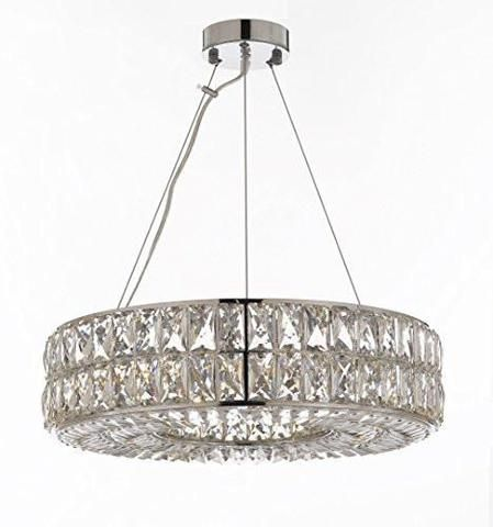 Crystal Spiridon Ring Chandelier Modern Contemporary