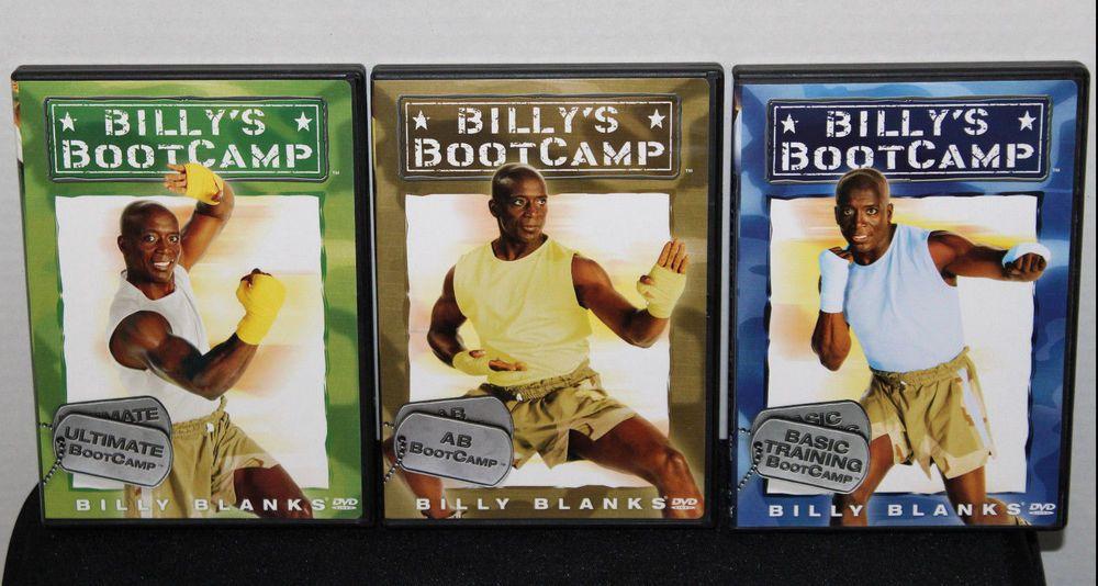 billy blanks boot camp 3 dvd set abs basic training ultimate bootcamp for sale on ebay dvd. Black Bedroom Furniture Sets. Home Design Ideas