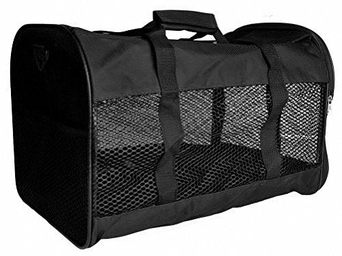 Kenox SoftSided Pet Travel Carrier for Dogs Cats Medium Black -- See this great product.