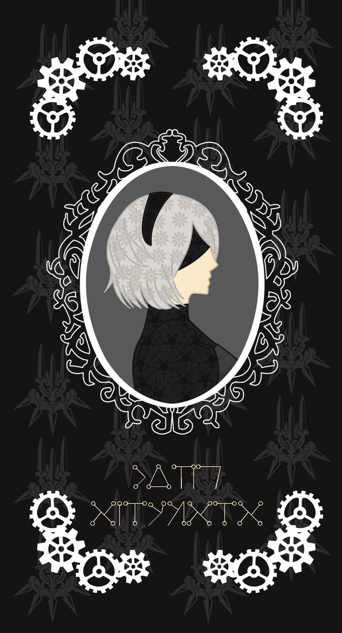 Nier Automata 2b Iphone Samsung Galaxy Phone Case In 2020 Nier