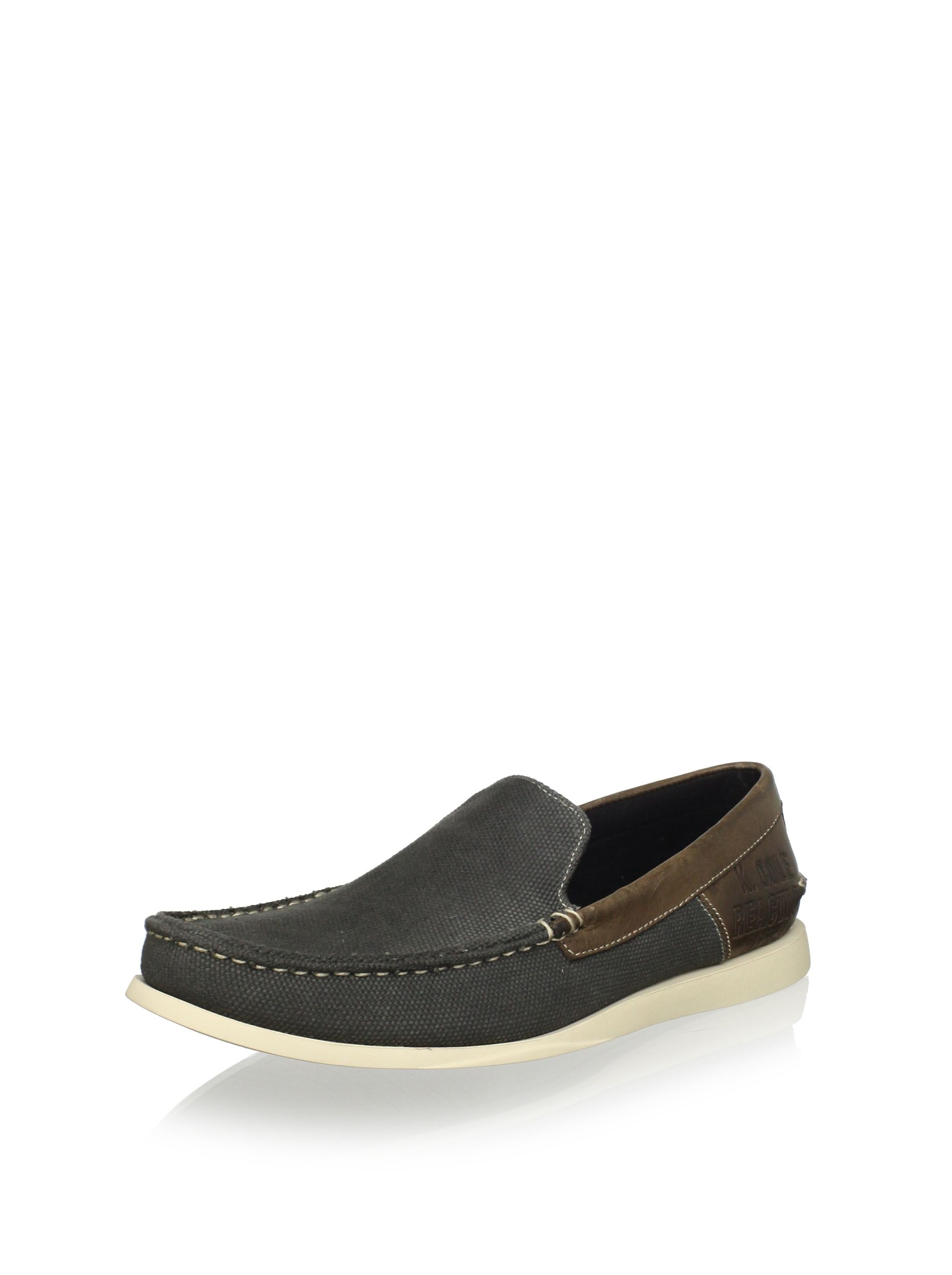 09bf164fd45 Kenneth Cole REACTION Men s Drifting CN Slip-On (Grey) This lightweight and  flexible loafer also has a cushioned insole Men  Shoes