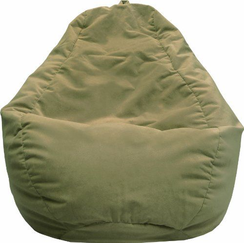 The Large Tear Drop Bean Bag Is Sturdy Double Stitched