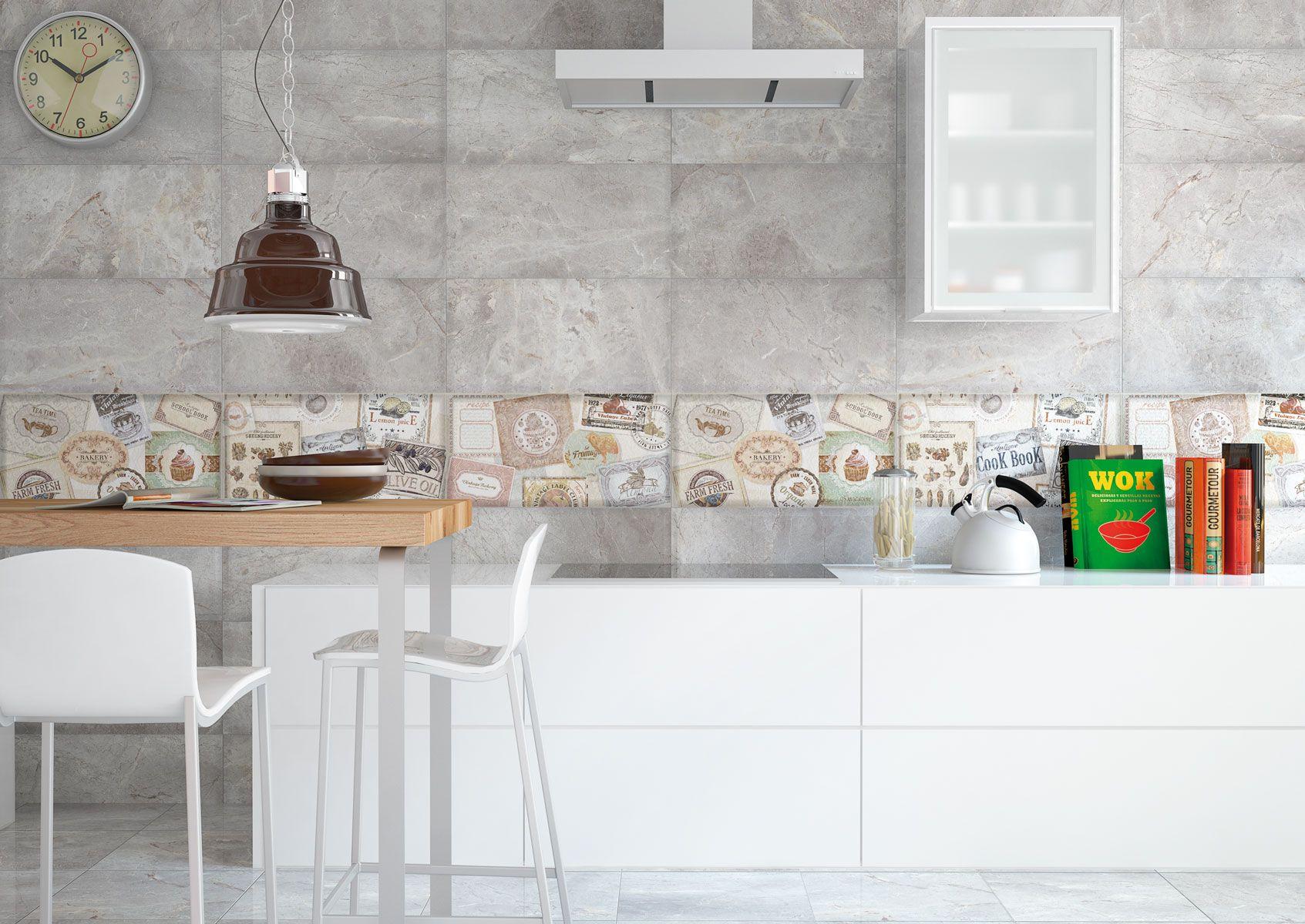 Nuevas ideas en azulejos y pavimentos para cocinas y ba os for Azulejos de ceramica para cocina