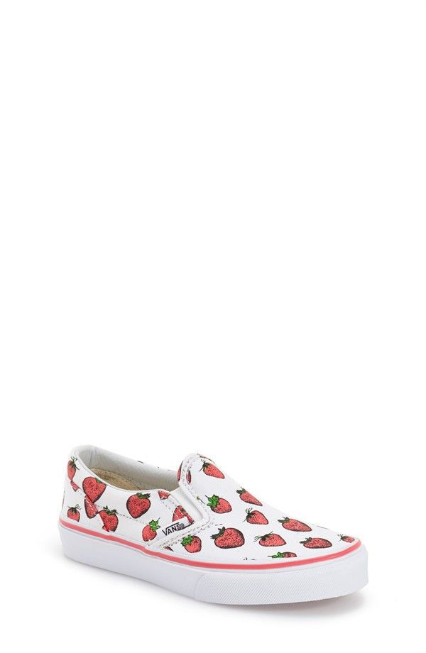 b336f5bf9c1  Classic - Strawberries  Slip-On Sneaker (Baby