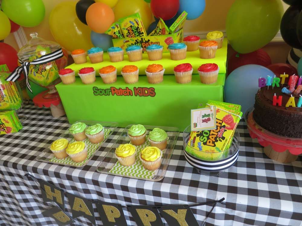 Sour Patch Kids Birthday Party Ideas Sour Patch Kids Cake Sour