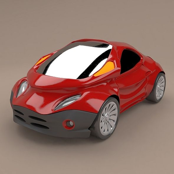 Futuristic city vehicle concept by zenox3d Futuristic concept vehicle designed and created with old blender3d 2.49b version,but refined with new blender3d 2.79 version.It was designed similar to concept vehicles from the 90s, when I started to copy and sketch cars as teenager from car magazines.Renderings created with cycles rendering engine