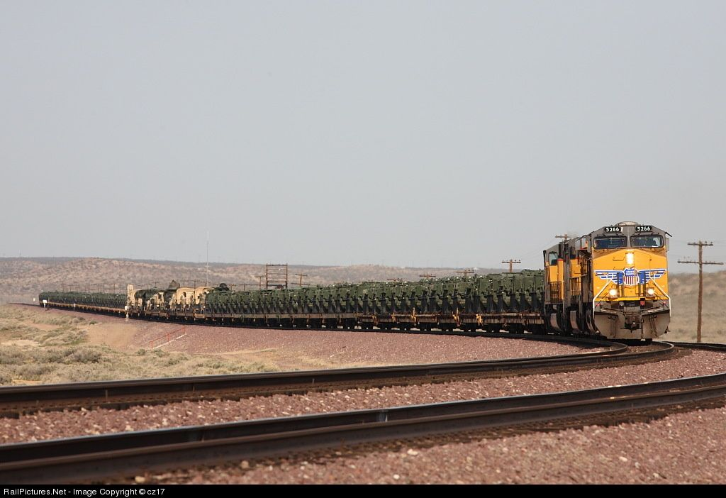 Photo UP 5266 Union Pacific GE ES44AC at