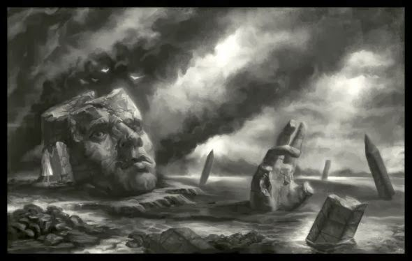 As sombrias ilustrações de fantasia de Matthew Starbuck a.k.a. faxtar