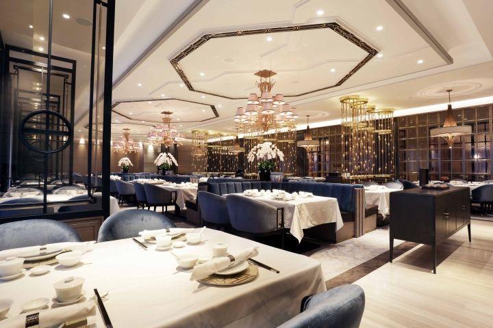House Of Yuen Restaurant By Metaphor Interior At Fairmont Hotel Jakarta Indonesia Retail Design Hotel Restaurant Restaurant Interior Design Hotels Design