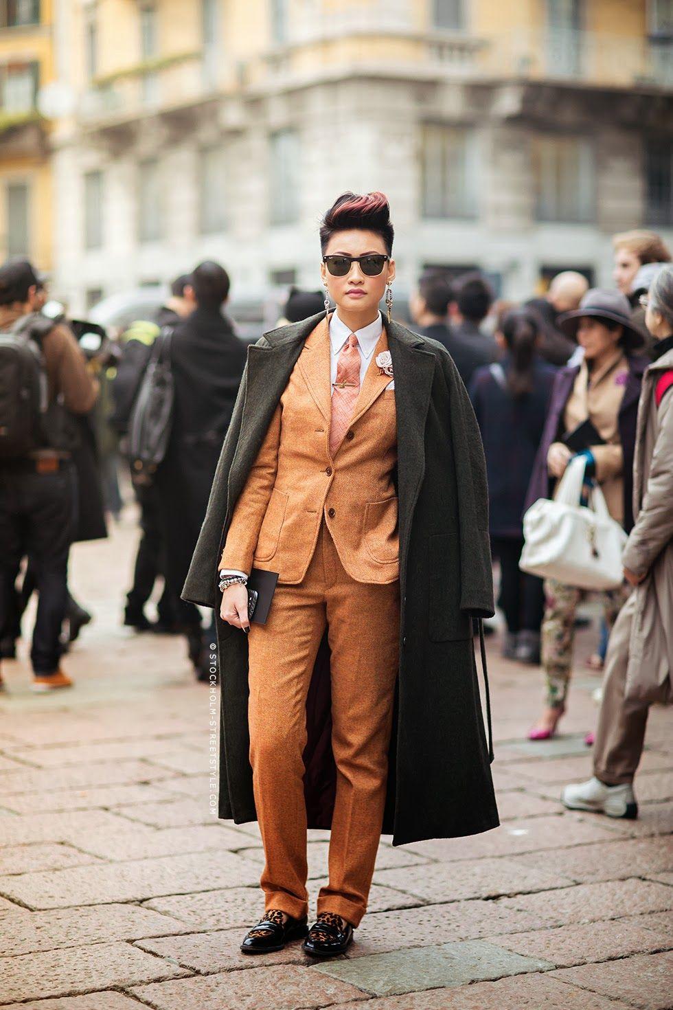 Menswear inspired suit fashion menswear inspired