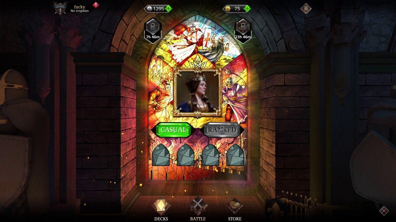 Knightfall Rivals CARD GAMEplay 2 Knightfall Rivals is a