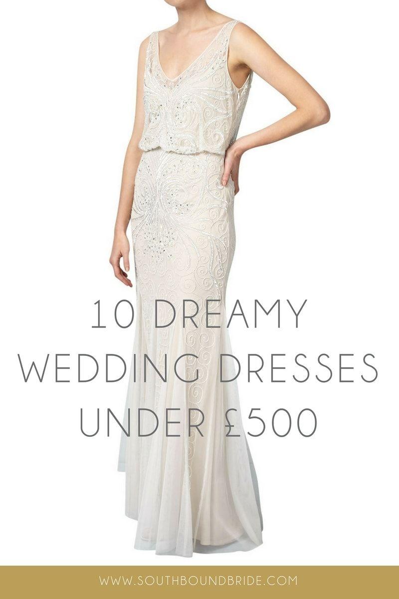 Wedding dress under 500   Dreamy Wedding Dresses Under   SouthBound Bride  Beautiful