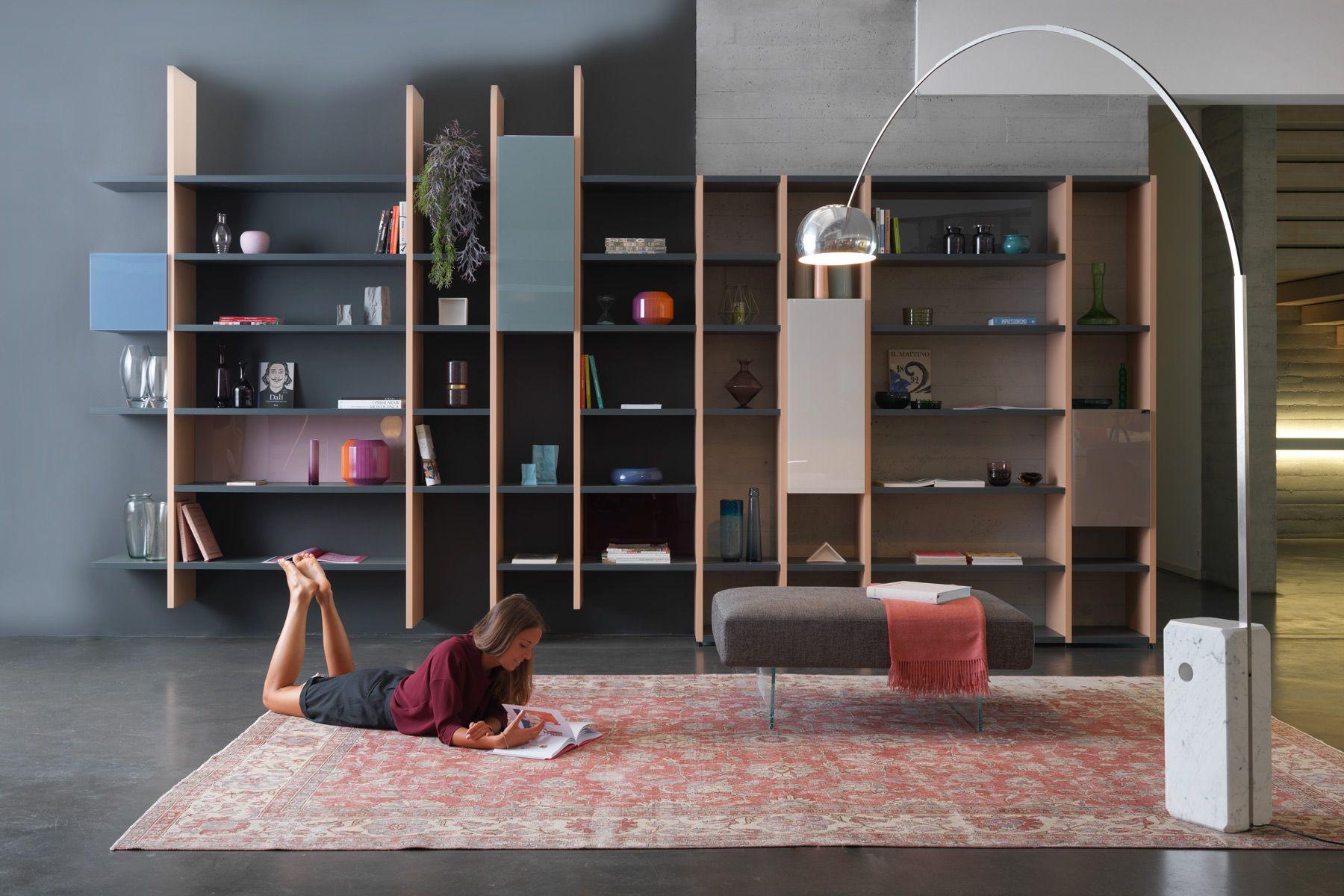Libreria 30mm: una libreria che ottimizza lo spazio al cm ...