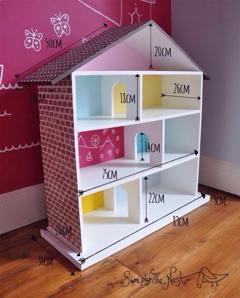 Домик для игр и хранения книг и игрушек | crafts | pinterest | doll