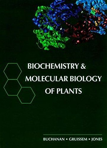 Biochemistry Molecular Biology Of Plants By Bob B Buch Https