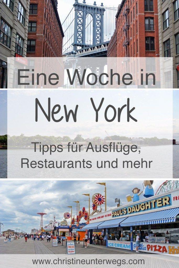 Eine Woche in New York - Teil 2 - Reisebericht von christine unterwegs #vacationlooks