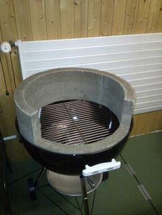 Concrete Recipe For Weber Mod Barbeque Grill Bbq Grill Diy